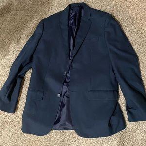 Men's Perry Ellis Navy Classic Fit Men's Suit L